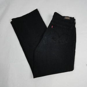 Levi's Jeans 512 Perfectly Slimming Black Size 14